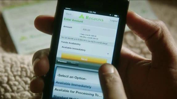 Regions Mobile Deposit TV Spot, 'Helping You Give Life the Green Light' - Thumbnail 5