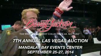Barrett-Jackson 7th Annual Las Vegas Auction TV Spot - Thumbnail 2