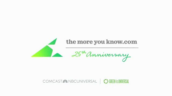 NBC TV Spot, 'The More You Know on Enviroment' Featuring Alison Sweeney - Thumbnail 4