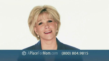 A Place For Mom TV Spot, 'Find the Right Place Fast' - 13 commercial airings