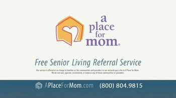 A Place For Mom TV Spot, 'Find the Right Place Fast' - Thumbnail 9