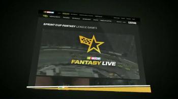 NASCAR.com Fantasy Live TV Spot, 'Rumble in Fontanta' - Thumbnail 10