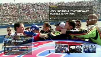 NASCAR.com Fantasy Live TV Spot, 'Rumble in Fontanta' - Thumbnail 7