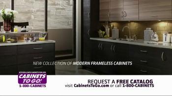 Cabinets To Go TV Spot, 'Frameless Kitchen' - Thumbnail 4
