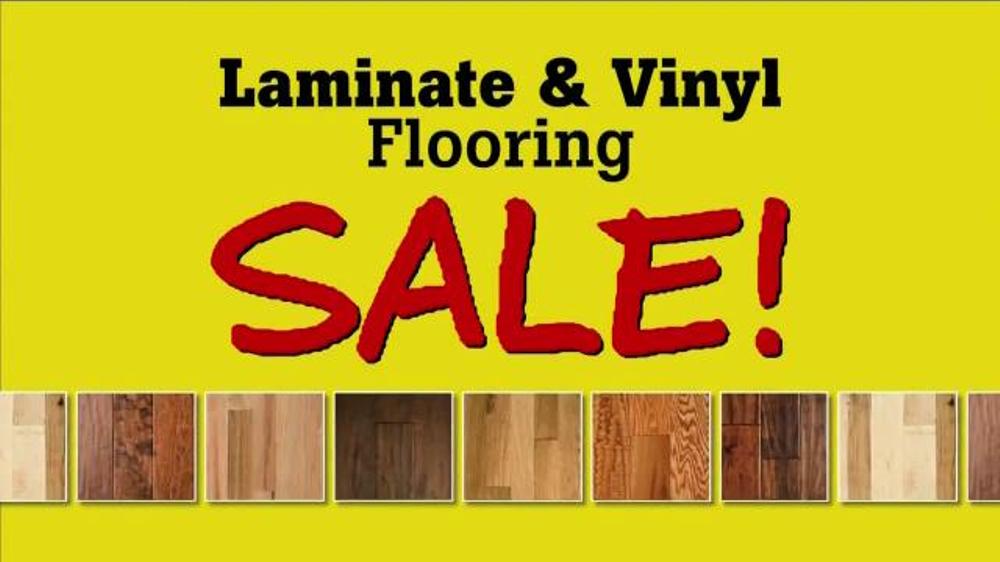 Flooring Sale Flyer : Lumber liquidators laminate vinyl flooring sale tv spot