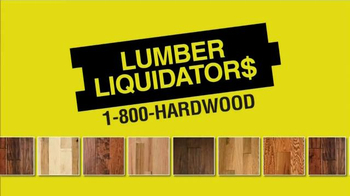 Lumber Liquidators Laminate & Vinyl Flooring Sale TV Spot - Thumbnail 1