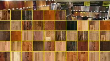 Lumber Liquidators Laminate & Vinyl Flooring Sale TV Spot - Thumbnail 4