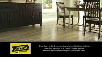 Lumber Liquidators Laminate & Vinyl Flooring Sale TV Spot - Thumbnail 8