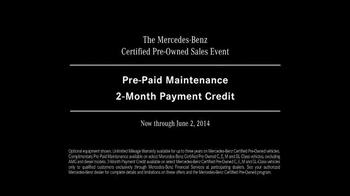 Mercedes-Benz Certified Pre-Owned Sales Event TV Spot, 'Odometer' - Thumbnail 10