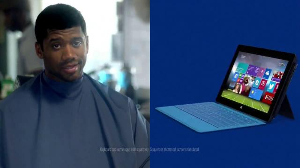 Microsoft Surface Pro 2 TV Commercial Ft  Russell Wilson, Song by Sara  Bareilles - Video