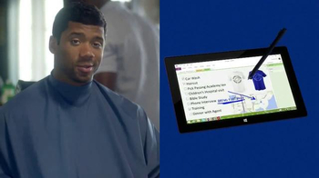 Microsoft Surface Pro 2 TV Spot Ft. Russell Wilson, Song by Sara Bareilles - Thumbnail 5