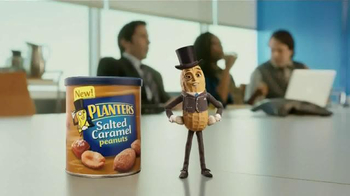 Planters Salted Caramel Peanuts TV Spot, 'The Presentation' - Thumbnail 1
