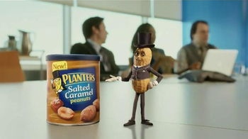 Planters Salted Caramel Peanuts TV Spot, 'The Presentation' - Thumbnail 2