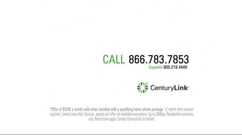 CenturyLink TV Spot, 'That's Fast' - Thumbnail 4