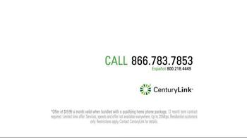 CenturyLink TV Spot, 'That's Fast' - Thumbnail 5