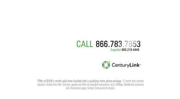 CenturyLink TV Spot, 'That's Fast' - Thumbnail 6