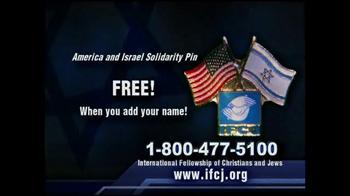 International Fellowship Of Christians and Jews TV Spot - Thumbnail 9