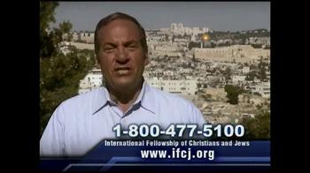 International Fellowship Of Christians and Jews TV Spot - Thumbnail 4