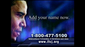 International Fellowship Of Christians and Jews TV Spot thumbnail