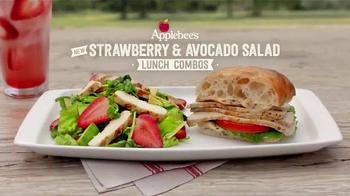 Applebee's Strawberry & Avocado Salad TV Spot, 'Invigorating Afternoon' - Thumbnail 2