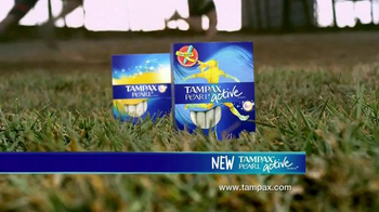 Tampax Pearl Active TV Spot, '20 Percent Slimmer' - Thumbnail 10