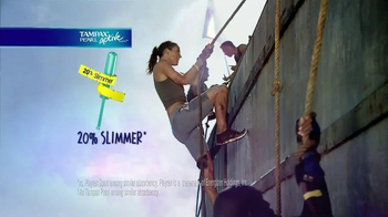Tampax Pearl Active TV Spot, '20 Percent Slimmer' - Thumbnail 7