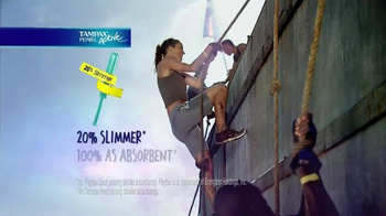 Tampax Pearl Active TV Spot, '20 Percent Slimmer' - Thumbnail 8