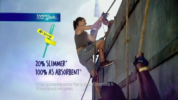 Tampax Pearl Active TV Spot, '20 Percent Slimmer' - Thumbnail 9