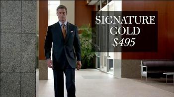 JoS. A. Bank TV Spot, 'Signature GOLD Suits Works' - Thumbnail 8