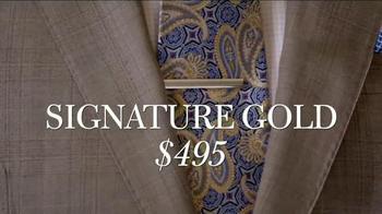 JoS. A. Bank TV Spot, 'Signature GOLD Suits Works' - Thumbnail 9