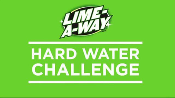 Lime-A-Way Turbo Power TV Spot, 'Hard Water Challenge' - Thumbnail 5