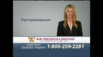Marc Whitehead & Associates, LLP TV Spot - Thumbnail 1