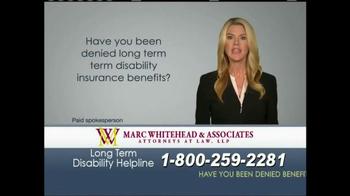 Marc Whitehead & Associates, LLP TV Spot - Thumbnail 2