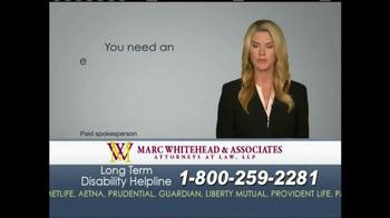 Marc Whitehead & Associates, LLP TV Spot - Thumbnail 5