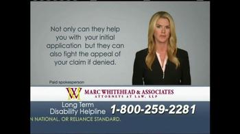 Marc Whitehead & Associates, LLP TV Spot - Thumbnail 9