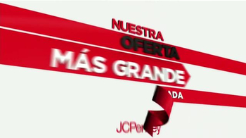 JCPenney Oferta Más Grande de La Temporada TV Spot [Spanish] - Thumbnail 1