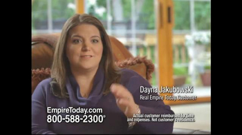 Empire Today TV Spot, 'Dayna' - 39 commercial airings