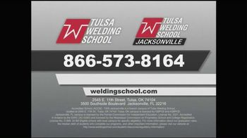 Tulsa Welding School TV Spot, 'What Does It Take'