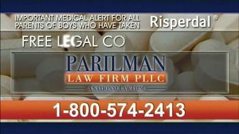 Parilman & Associates TV Spot, 'Risperdal' - Thumbnail 10