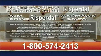 Parilman & Associates TV Spot, 'Risperdal' - Thumbnail 8