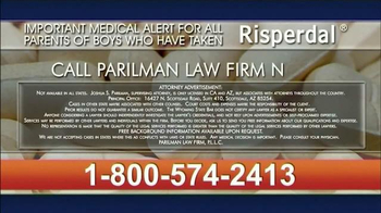 Parilman & Associates TV Spot, 'Risperdal' - Thumbnail 9