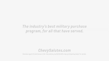Chevrolet TV Spot, 'Military Appreciation Month' - Thumbnail 10