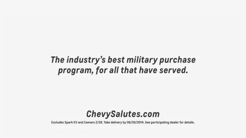 Chevrolet TV Spot, 'Military Appreciation Month' - Thumbnail 9