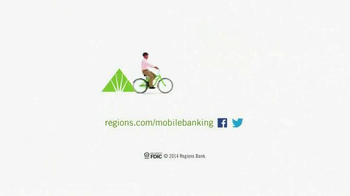 Regions Mobile Banking TV Spot, 'Helping You Give Life the Green Light' - Thumbnail 8