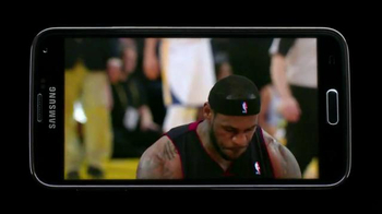 Samsung Galaxy S5 TV Spot, 'Lebron App' - Thumbnail 5