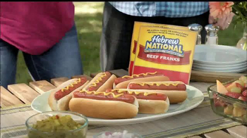 Hebrew National TV Spot, 'Backyard BBQ' - 5265 commercial airings