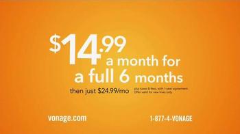 Vonage Home Phone Service TV Spot - Thumbnail 3