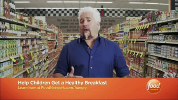 No Kid Hungry TV Spot, 'Food Network: School Meals' Featuring Guy Fieri - Thumbnail 5