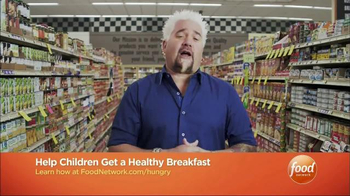 No Kid Hungry TV Spot, 'Food Network: School Meals' Featuring Guy Fieri - Thumbnail 9