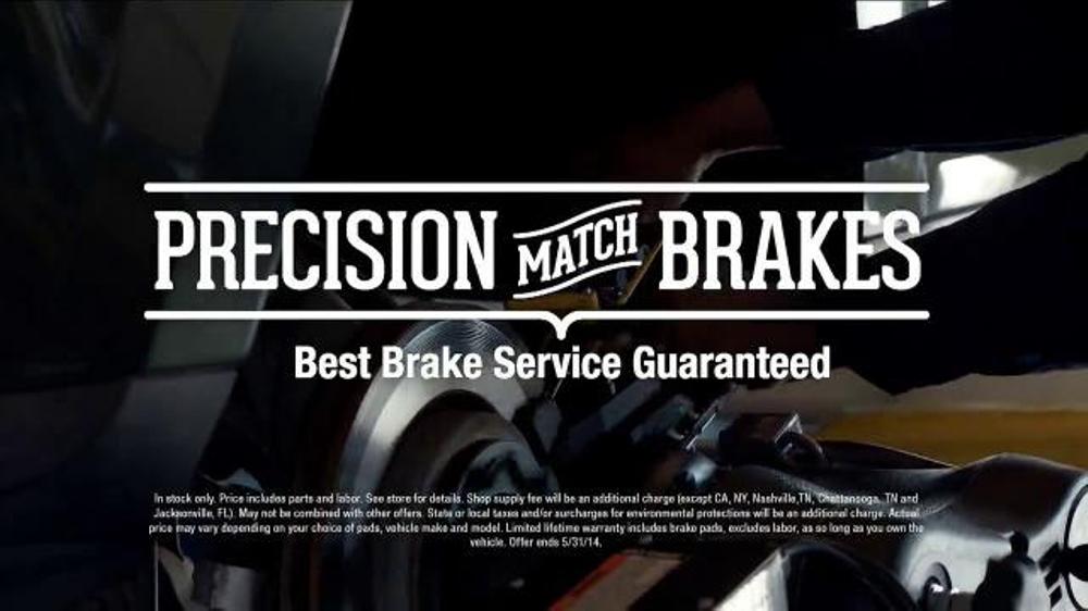 PepBoys TV Commercial, 'Precision Match Brake Service'